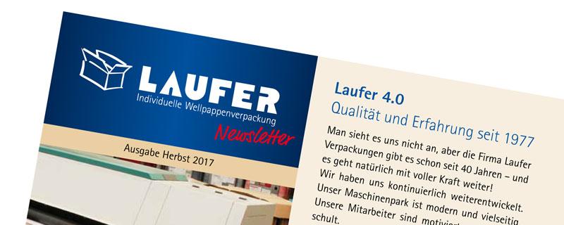 Laufer Newsletter Herbst 2017