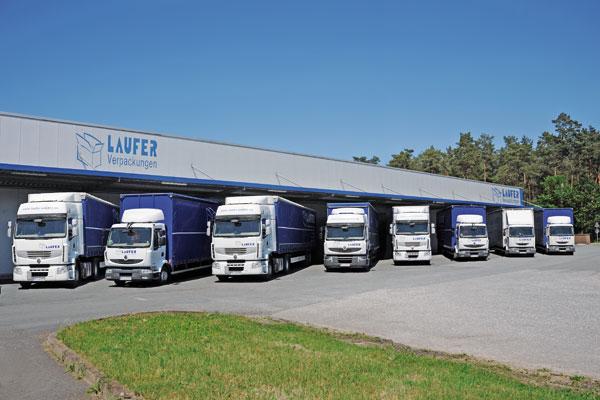 Laufer Logistik und Fuhrpark