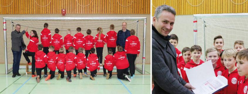 Trainingsanzüge für HSV-E4-Jugend