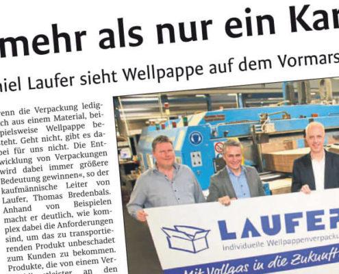 Artikel Westfälisches Volksblatt