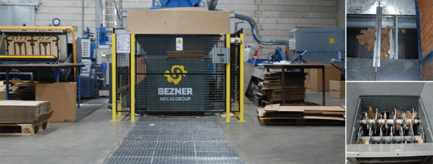 Abfallfördersystem